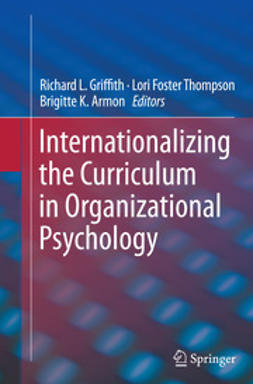 Griffith, Richard L. - Internationalizing the Curriculum in Organizational Psychology, ebook