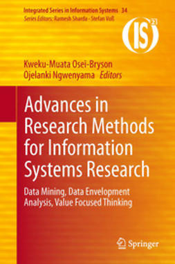 Osei-Bryson, Kweku-Muata - Advances in Research Methods for Information Systems Research, e-bok