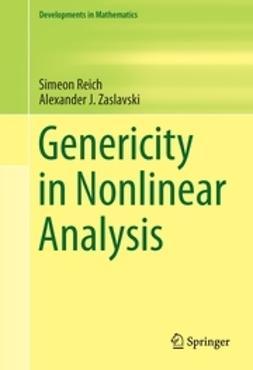 Reich, Simeon - Genericity in Nonlinear Analysis, e-kirja