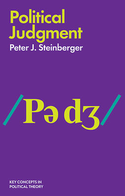 Steinberger, Peter J - Political Judgment - An Introduction, ebook