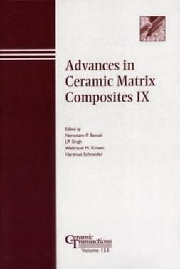 Bansal, Narottam P. - Advances in Ceramic Matrix Composites IX: Proceedings of the symposium held at the 105th Annual Meeting of The American Ceramic Society, April 27-30, in Nashville, Tennessee, Ceramic Transactions, ebook