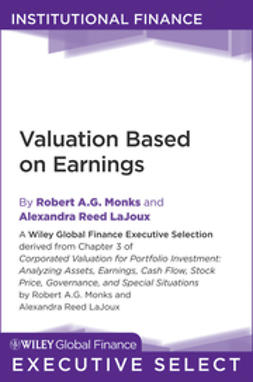 Monks, Robert A. G. - Corporate Valuation for Portfolio Investment: Analyzing Assets, Earnings, Cash Flow, Stock Price, Governance, and Special Situations, ebook