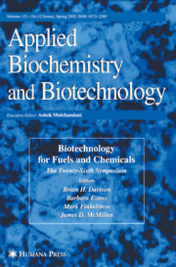 Davison, Brian H. - Twenty-Sixth Symposium on Biotechnology for Fuels and Chemicals, ebook