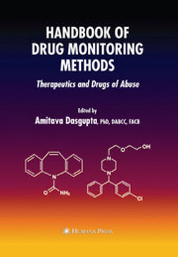 Dasgupta, Amitava - Handbook of Drug Monitoring Methods, e-bok