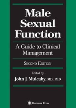 Mulcahy, John J. - Male Sexual Function, ebook
