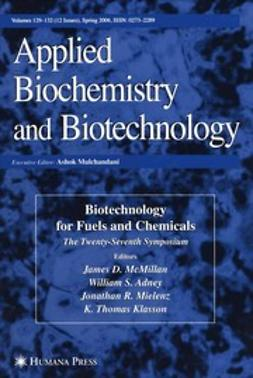 McMillan, James D. - Twenty-Seventh Symposium on Biotechnology for Fuels and Chemicals, ebook