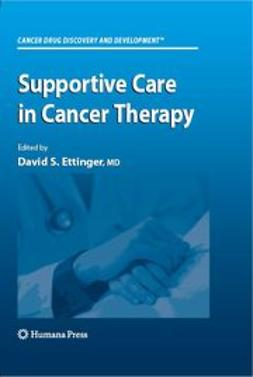 - Supportive Care in Cancer Therapy, ebook