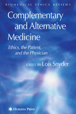 Snyder, Lois - Complementary and Alternative Medicine, e-bok