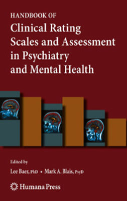 Baer, Lee - Handbook of Clinical Rating Scales and Assessment in Psychiatry and Mental Health, ebook