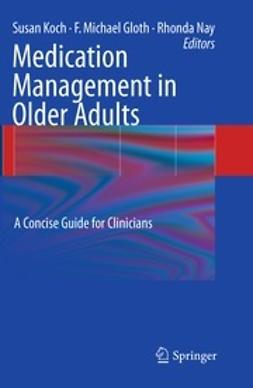 Koch, Susan - Medication Management in Older Adults, ebook