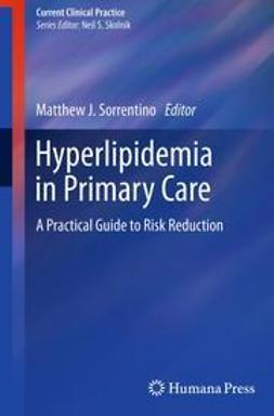 Sorrentino, Matthew J. - Hyperlipidemia in Primary Care, ebook