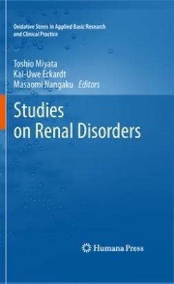 Miyata, Toshio - Studies on Renal Disorders, ebook