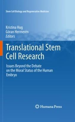 Hug, Kristina - Translational Stem Cell Research, ebook