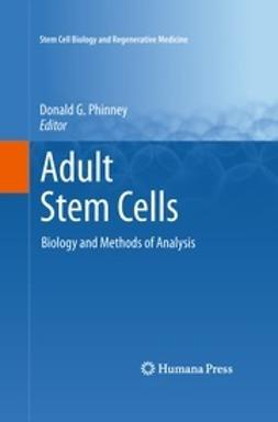 Phinney, Donald G. - Adult Stem Cells, ebook