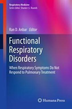 Anbar, Ran D - Functional Respiratory Disorders, ebook