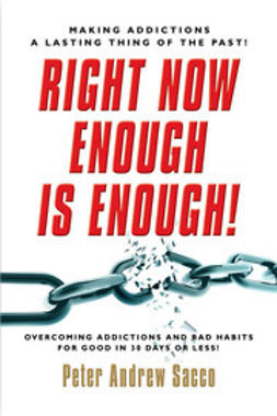 Sacco, Peter - Right Now Enough is Enough!, e-kirja
