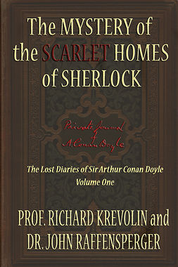 Krevolin, Prof Richard - The Mystery of the Scarlet Homes Of Sherlock, e-kirja