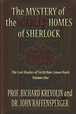 Krevolin, Prof Richard - The Mystery of the Scarlet Homes Of Sherlock, ebook