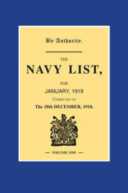 Office, H.M. Stationary - Navy List January 1919 - Volume 1, ebook