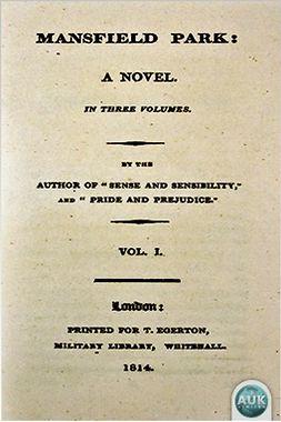 Austen, Jane - Mansfield Park, e-kirja