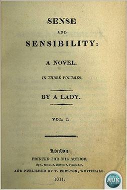 Austen, Jane - Sense and Sensibility, e-kirja