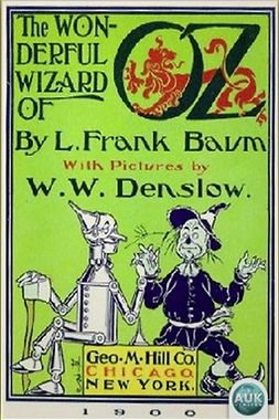 Baum, L. Frank - The Wonderful Wizard of Oz, e-kirja