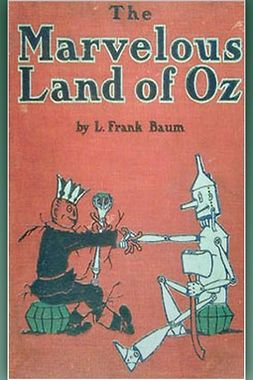 Baum, L. Frank - The Marvelous Land of Oz, e-bok