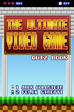 Goldstein, Jack - The Ultimate Video Game Quiz Book, e-bok