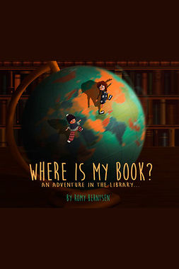 Berntsen, Romy - Where Is My Book?, e-bok