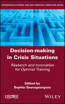 Sauvagnargues, Sophie - Decision-Making in Crisis Situations: Research and Innovation for Optimal Training, e-bok