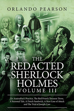 Pearson, Orlando - The Redacted Sherlock Holmes - Volume 3, ebook