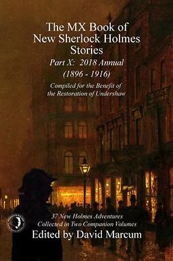 Marcum, David - The MX Book of New Sherlock Holmes Stories - Part X, ebook