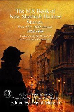 Marcum, David - The MX Book of New Sherlock Holmes Stories - Part XIX, e-bok