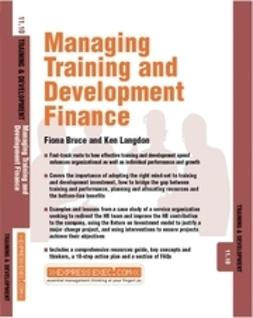 Green, Fiona - Managing Training and Development Finance, ebook