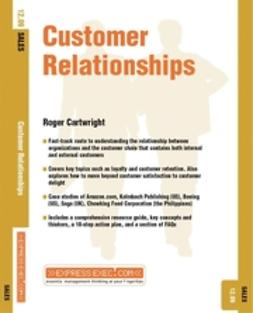 Cartwright, Roger - Customer Relationships, ebook