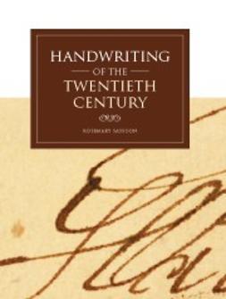 Sassoon, Rosemary - Handwriting of the Twentieth Century, e-bok