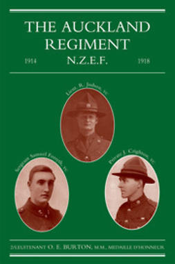 Burton, 2/Lieut. O. E. - The Auckland Regiment, ebook