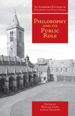 Aiken, William - Philosophy and Its Public Role, ebook
