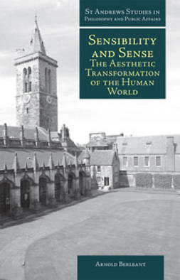 Berleant, Arnold - Sensibility and Sense, ebook