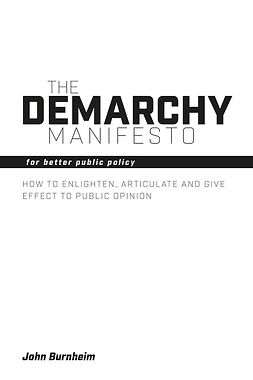 Burnheim, John - The Demarchy Manifesto, ebook