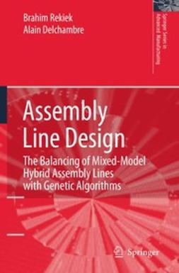 Delchambre, Alain - Assembly Line Design, ebook