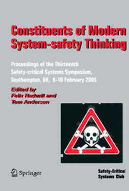 Anderson, Tom - Constituents of Modern System-safety Thinking, ebook