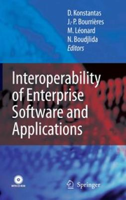 Boudjlida, Nacer - Interoperability of Enterprise Software and Applications, e-bok