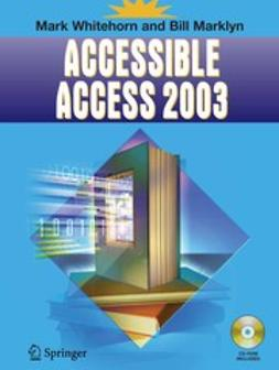 Marklyn, Bill - Accessible Access 2003, ebook