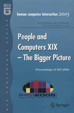 Benyon, David - People and Computers XIX — The Bigger Picture, ebook