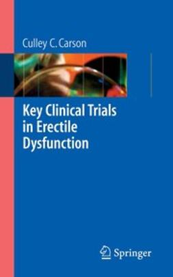 Carson, Culley C. - Key Clinical Trials in Erectile Dysfunction, ebook