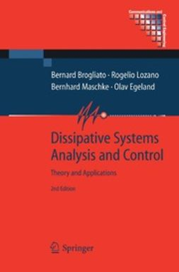 Brogliato, Bernard - Dissipative Systems Analysis and Control, ebook