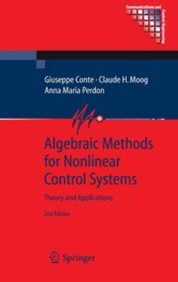 Conte, Giuseppe - Algebraic Methods for Nonlinear Control Systems, e-bok