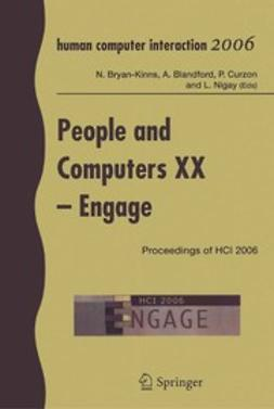 Blanford, Ann - People and Computers XX — Engage, ebook