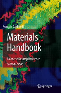 Cardarelli, Francois - Materials Handbook, ebook